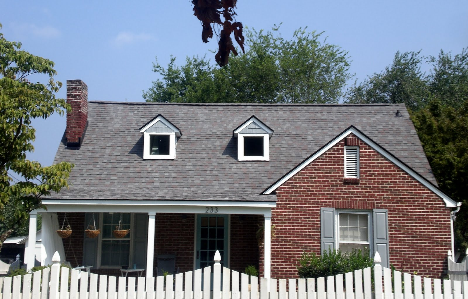 Lake pointe construction before and after for House roofing